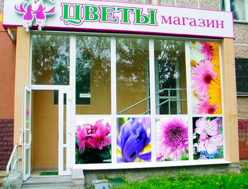 цены на полноцветное оформление витрин